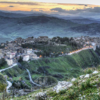 vista paesaggio Madonie, Sicilia